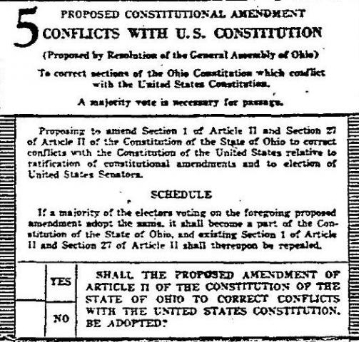 title about report Four with typically the constitution